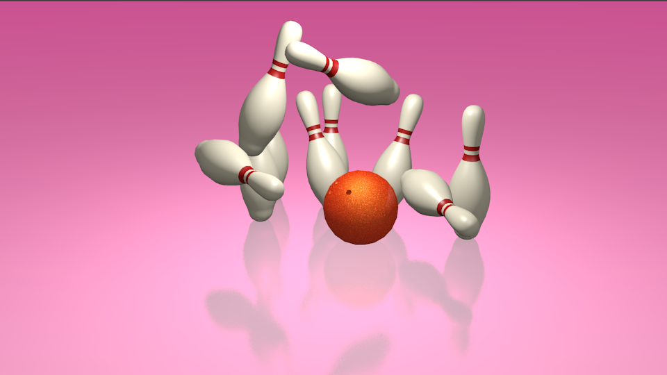 Day 12: Bowling Action Scene